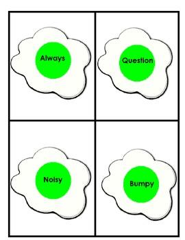 Green Eggs & Ham Antonyms