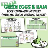 Green Eggs & Ham Dr. Seuss Read Across America Book Companion (Digital Included)