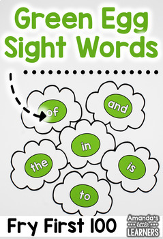 Sight Word Game - Green Egg Flip