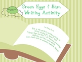 Green Eggs Writing Templates