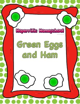 Green Eggs and Ham ABC Matching