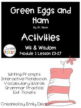 Green Eggs and Ham Activities First Grade