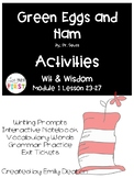 Green Eggs and Ham Activities First Grade
