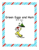 Green Eggs and Ham Adapted Book