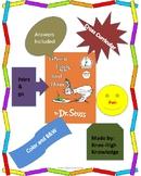 Green Eggs and Ham Book Activities