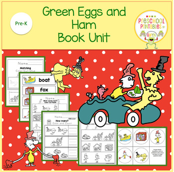Green Eggs and Ham Book Unit