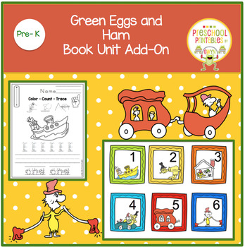 Green Eggs and Ham Book Unit Add-On