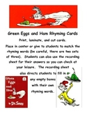 Green Eggs and Ham Combo Pack