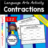 Free Contractions Worksheet