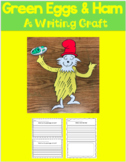 Green Eggs and Ham Craft and Writing