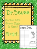 Green Eggs and Ham Dr.Seuss Graph