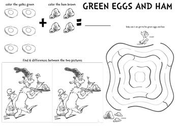 Green Eggs and Ham Fun!