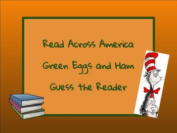 Green Eggs and Ham Guess the Reader
