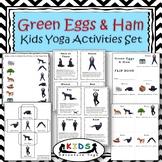 Green Eggs and Ham Kids Yoga Activities Set