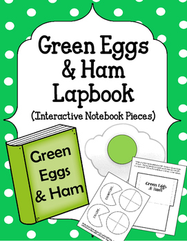Green Eggs and Ham Lapbook. Interactive Notebook Peices. Dr. Seuss