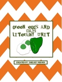 Green Eggs and Ham Literacy Unit