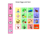 Green Eggs and Ham Manual Board with Manipulatives
