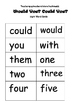 Green Eggs Mini Book: Guided Reading:  Number Words:  Lesson Plans
