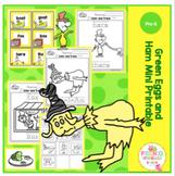 Green Eggs and Ham Mini Printable