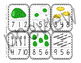 Green Eggs and Ham Number Clip Cards