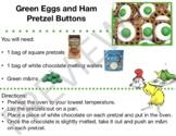 Green Eggs and Ham Pretzel Buttons  - Dr. Seuss - Visual Recipe