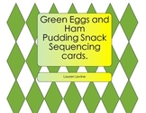 Green Eggs and Ham Pudding Snack