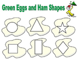 Green Eggs and Ham Shape Match