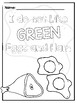 Green Eggs and Ham Themed Coloring Sheets