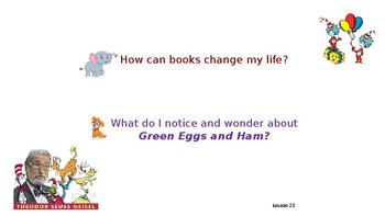 Green Eggs and Ham Wit and Wisdom