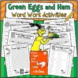 Green Eggs and Ham: Word Work Activities