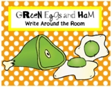 Green Eggs and Ham Write the Room Activity - Dr. Seuss Week