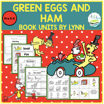 Green Eggs And Ham By Dr Seuss Book Unit