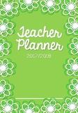 Green Floral Planner/Binder 2017/18