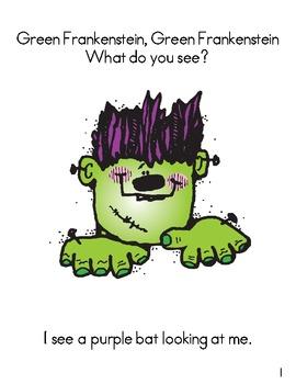 Green Frankenstein, Green Frankenstein (A Halloween Reader)