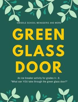 Green Glass Doors: An Ice Breaker Activity