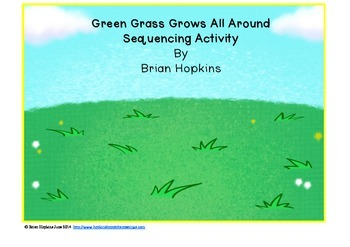 Green Grass Grows All Around Sequencing FREEBIE