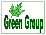 Green Group Sign