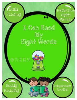 Green Gumball Sight Words in Sentences