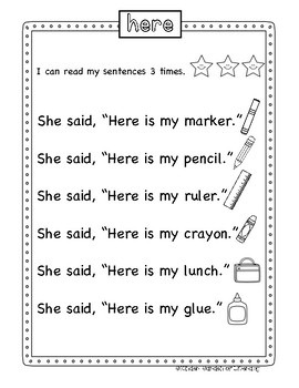 Fluency Reading-Green
