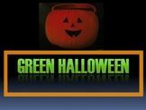 Science - Green Halloween Activity - Elementary - Environm
