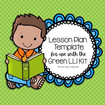Green LLI Lesson Plan Template