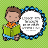 Green LLI Lesson Plan Template