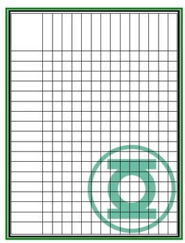 Green Lantern Record Sheet
