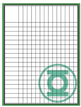 Green Lantern Record Sheet