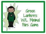 Green Lantern's W/L Minimal Pairs Game
