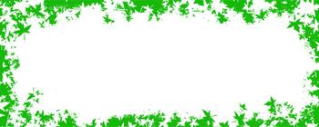 Green Leaf Border/Header