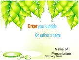 Green Leaf PPT Template