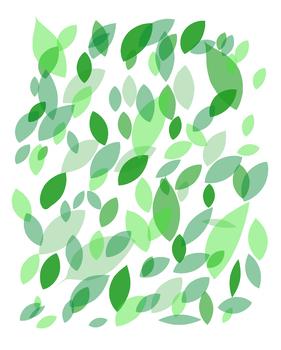 Green Leaves Classroom Art (8x10)