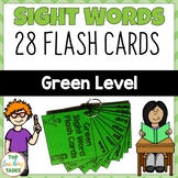 New Zealand Sight Words Green Level Flash Cards