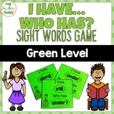 New Zealand Sight Words - Green Level Sight Word Game - I
